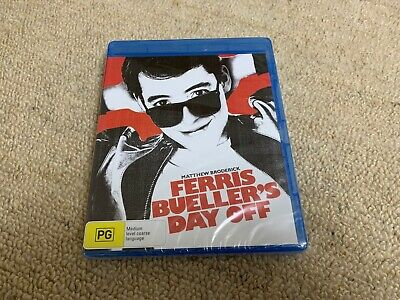 Ferris Bueller's Day Off Blu Ray Brand New Sealed