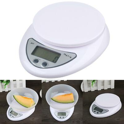 5kg/1g Digital Electronic LCD Kitchen Food Diet Postal Scale Weight Balance