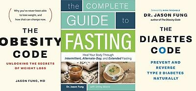 Dr. Jason Fung - Diabetes & Obesity Code + Guide to Fasting (P.DF, E-B00K) FAST