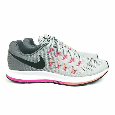 NEW WOMENS NIKE Air Zoom Pegasus 33 Size 9 Fire PinkBright