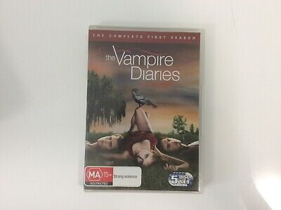 The Vampire Diaries - Season 1  - 5 Disc Set - R4 - Very Good Condition