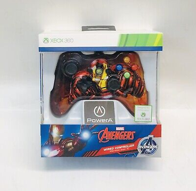 xbox 360 Iron Man Wired Controller