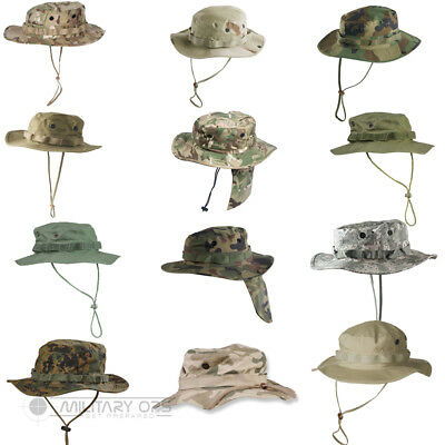 Helikon Gi Us Style Boonie Hat Field Army Military Jungle Sun Neck Protection