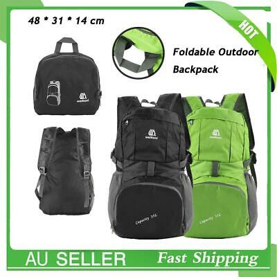Waterproof  Foldable Outdoor Sports Backpack Camping Hiking Travel School Bag