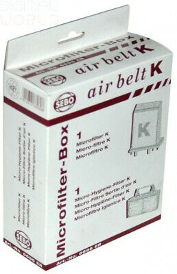 SEBO 6696ER Microfilter Box - Suitable For All K Cylinder Cleaners