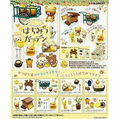 RE-MENT Rilakkuma Honey Garden 8pcs Complete Set BOX w/ Tracking NEW