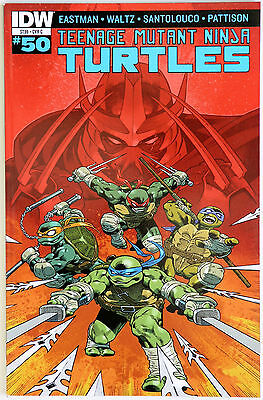 Teenage Mutant Ninja Turtles TMNT 50 Variant Cover C IDW K Eastman T Waltz