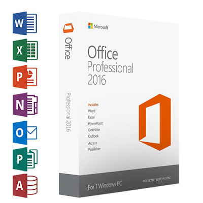 Microsoft Office 2016 Pro Plus / Key / Professional Plus 32- 64 Bit FastDelivery