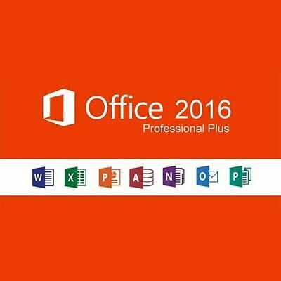 Microsoft Office 2016 Multilingual License 32-64 Bit Product Key