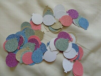 70 Large Glitter Balloon Embellishments Will Be Sent First Class