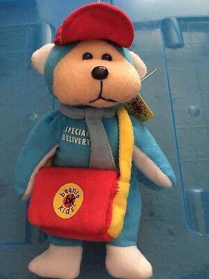 Beanie Kids - Stamps the Postman Bear