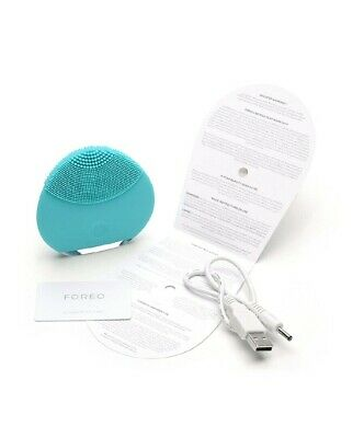 Foreo Luna Mini Sonic Facial Cleansing Device Vibrate Hygienic USB Silicon GREY