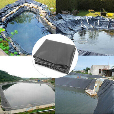 HDPE Fish Pond Liner 8*2/8*4/8*6/8*8/8*10/8*12/8*14m Impermeable Geomembrane 10s