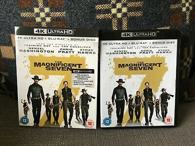 The Magnificent Seven 4K HDR with Slipcover