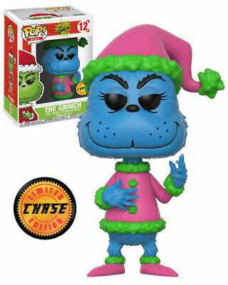 The Grinch - Dr Seuss - Funko Pop - Brand New - Chase Edition