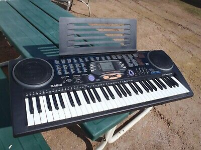 Casio Ctk-541 Piano,Organ Electronics,Works Good 100 Tones,Songs,Slightly Used