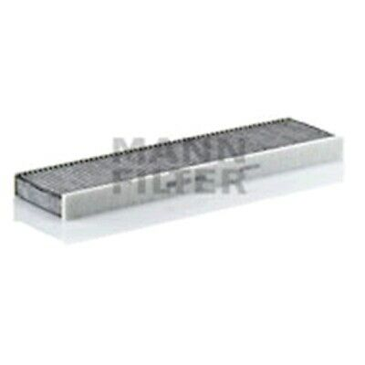 Mann CUK26009 Cabin Filter Element Activated Charcoal Flat 32mm Height Service