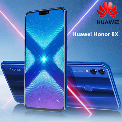 """6.5"""" Huawei Honor 8X Smartphone 4+128Go Android 8.0 20MP 4G Téléphone Octa Core"""