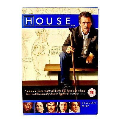 House MD Season One 6 Disc Box Set Mint Discs Watched Once Region 2 Cert 12