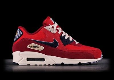 huge selection of 829c9 f57e5 Nike Air Max 90 Premium SE Varsity Red Size 10