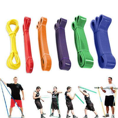 Heavy Duty Resistance Stretch Loop Band Gym Fitness Elastic Rubber Rope Strap