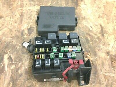 2003 dodge stratus fuse relay box 2.4L 2003-2006