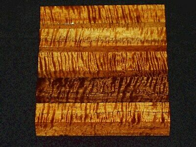 Aaaaa Jumbo Curly Hawaiian Koa Pen Blanks #9984