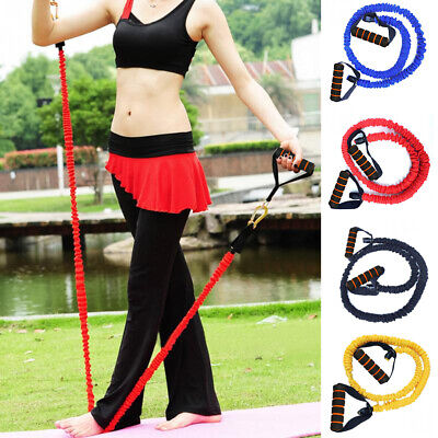 Elastic Resistance Bands Yoga Pull Fitness Sports Exercise Rubber Rope 120cm