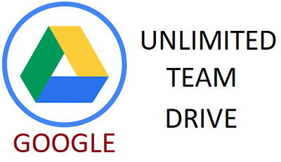 Google Unlimited Team Drive (GSuite) / LIFETIME
