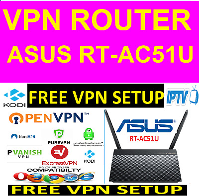 PRE CONFIGURED VPN Router - High Speed, Secure, Compatible