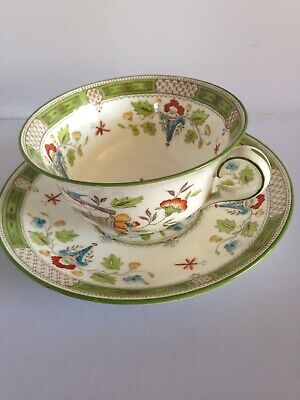 Antique beautiful Wedgewood Tea Cup And A Saucer,with original back stamp