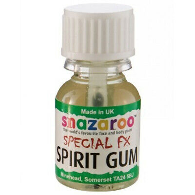 Spirit Gum Snazaroo Halloween Prosthetic Scars Horror Makeup Effects 10ml