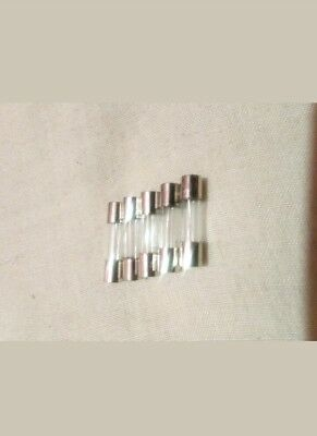 5x Fusible microondas 6x30mm 250V  ,10A MADRID