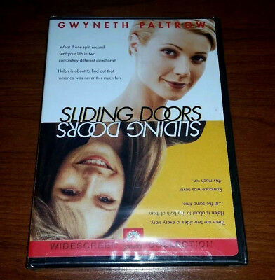 Sliding Doors (DVD, 1998, Widescreen) with Gwyneth Paltrow BRAND NEW & SEALED