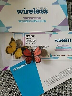 Wireless Festival 2019 - 1 x Friday Ticket (5th July 2019) 100% positive f/back