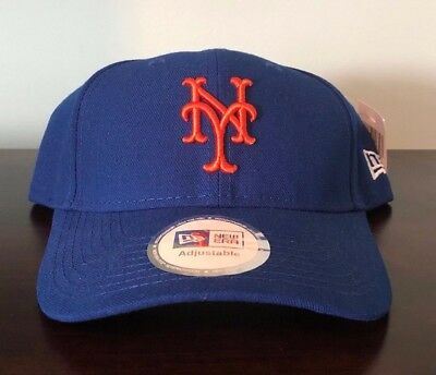 aa0c810ae9d8f Authentic New Era Fits Adjustable New York Mets Hat Cap Baseball MLB NEW