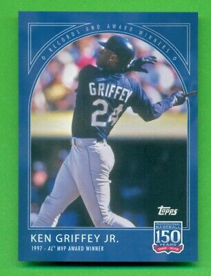 2019 Topps 150 Years of Baseball Card #22 Ken Griffey Jr. MVP Award Winner