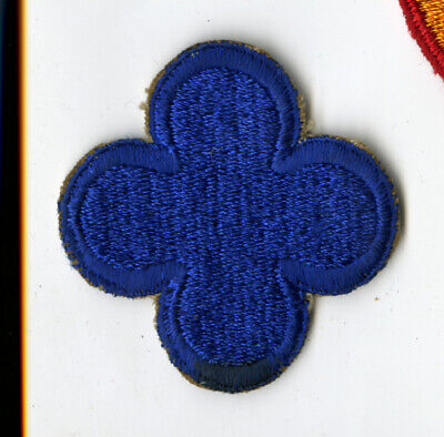 Patches WWII US 88TH INFANTRY DIVISION FIGHTING BLUE DEVILS SLEEVE PATCH INSIGNIA