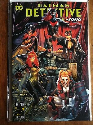 DETECTIVE COMICS #1000 CONTROVERSIAL Anacleto TRADE DRESS Variant NM