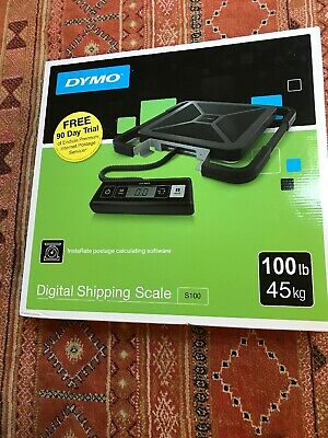 Dymo Digital Shipping Scale S100 Capacity 100 lbs NIB Brand New In Box