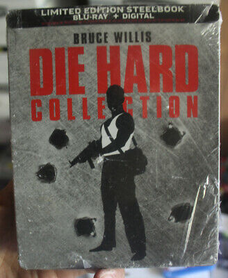 Die Hard Collection Steelbook (Blu ray 2018) 5 Movies BRAND NEW SEALED Defects