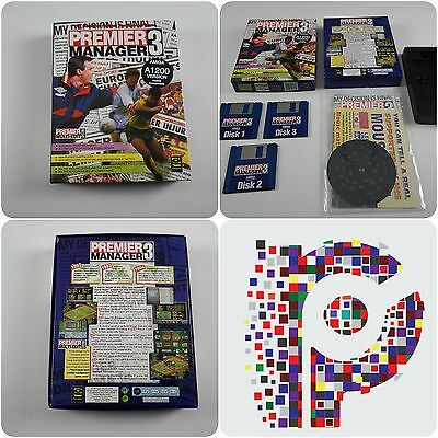 Premier Manager 3 A Gremlin Game for the Commodore Amiga Computer tested&working