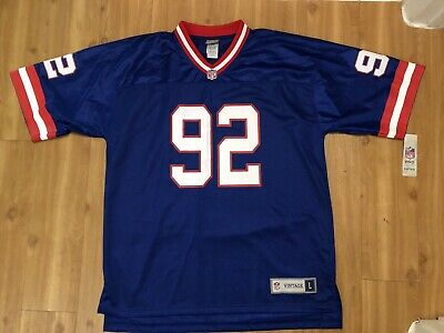 promo code 0424e f746c VINTAGE TEAM NFL Throwback Jersey Michael Strahan #92 New York Giants Size  Large