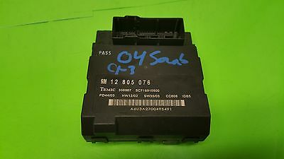 Q 2003 Saab 9 3 Arc Bcm Bcu Fuse Box Body Control Module Unit 1