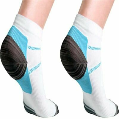 AU Plantar Fasciitis Foot Pain Relief Sleeves Heel Ankle Sox Compression Socks~