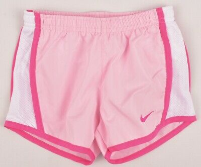NIKE Dri-Fit Girl's Running Performance Shorts, Pink, size 3-4 Years