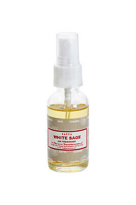 Satya Room Clearing Spray WHITE SAGE 30ml Single Bottle Made in India Cleanse