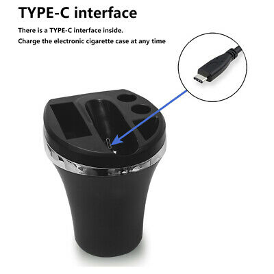 For IQOS Multifunctional Charger Cup Car Ashtray Design Cigarette