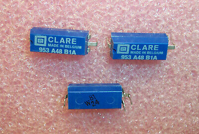 Qty (5) 953A48B1A Clare Relays Nos