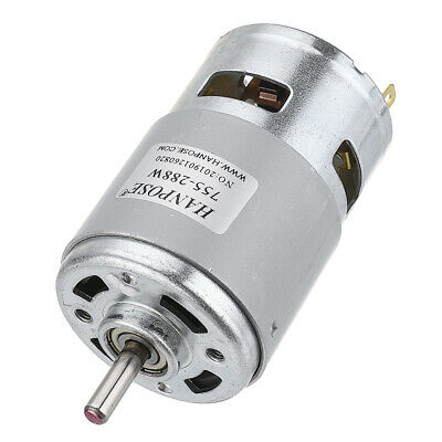 13000RPM//6500RPM 12V High Torque Magnetic Electric DC Micro Motor Silver Q3J8